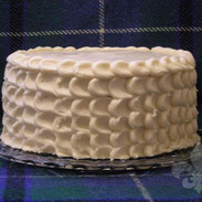 Apple Spice Cake with Salted Caramel Buttercream
