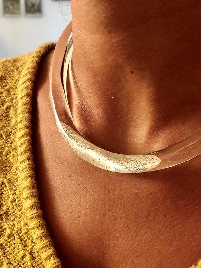 Collier silver Bertel