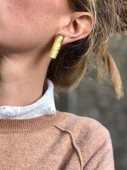 Boucles gold Bertel