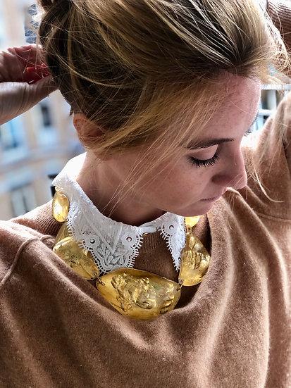 Collier gold Eugène