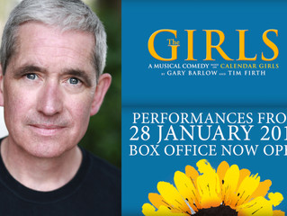 John Davitt in Rehearsals for 'The Girls - The Musical'