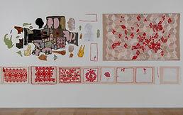 06at18red Fragments at Esker Foundation.