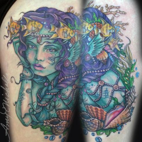 Portrait of Mermaid