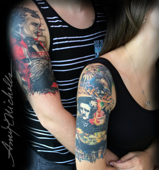 Poe and Maryland Sleeves (Healed)