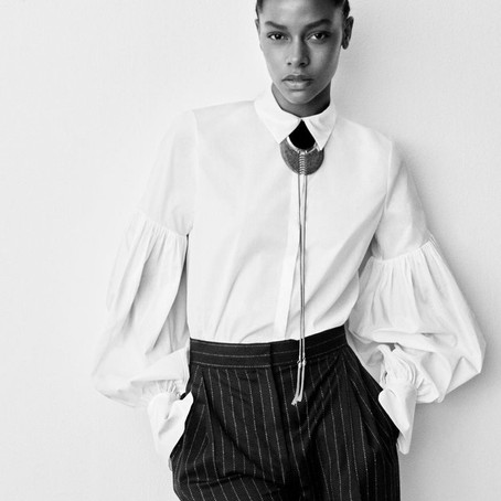Essentials: Thee White Blouse