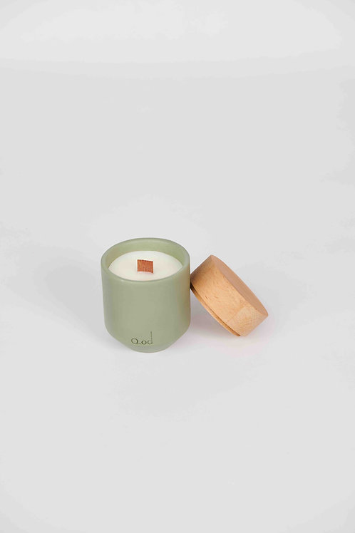 HEKLA Candle Green