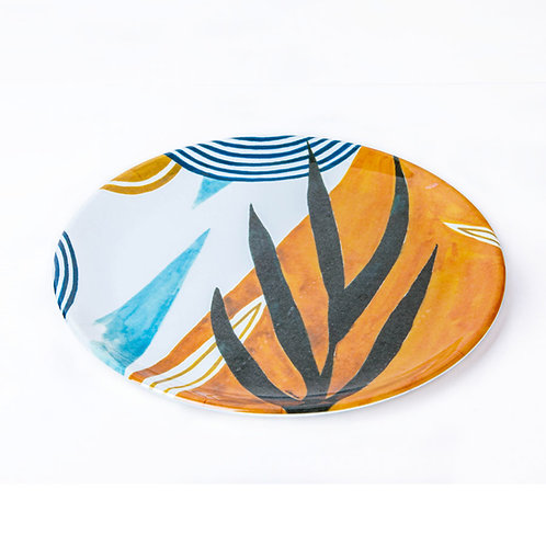 FOREST Melamine Plates Set of 4