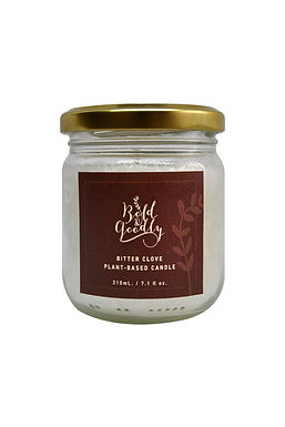 BITTER CLOVE Plant-Based Candle