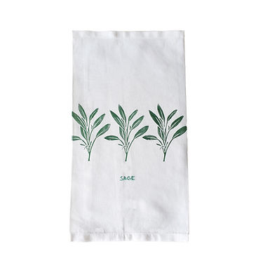 SAGE Tea Towel