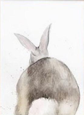 RABBIT II Watercolor