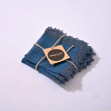 LINEN Tea napkins ( set of 4 )
