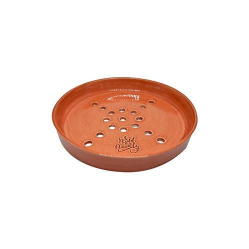 HANDMADE Tangerine Ceramic Soap Holder