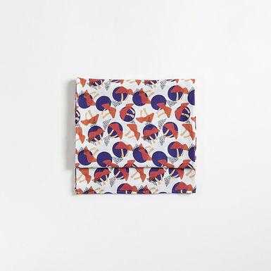 MUSHROOM Baby Burp Cloth