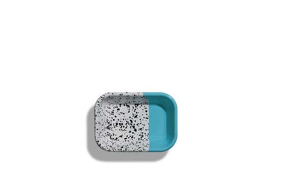 Mind Pop Turquoise Small Meze Plate