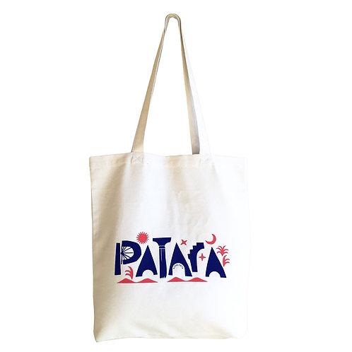 PATARA Ecru Tote Bag