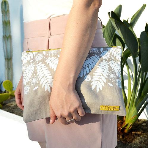 MIMOSA Linen Soft Clutch