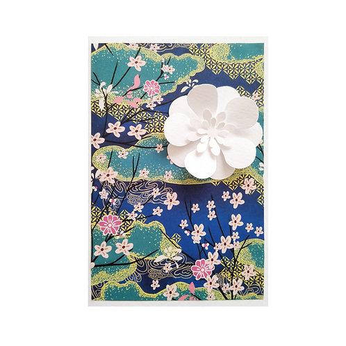 JAPONYA ORIGAMI Zarflı El Yapımı Kartpostal