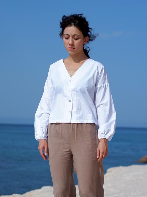 URSULA Beyaz Bluz