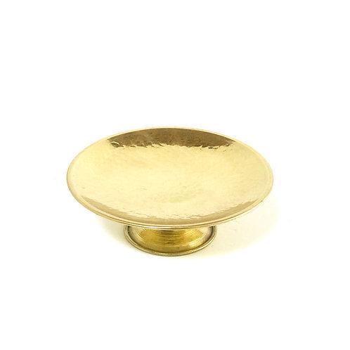 Handmade Brass Footed Platter