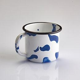 A LITTLE COLOR Blue Mug