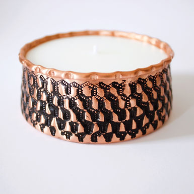 HANDMADE Copper Candle