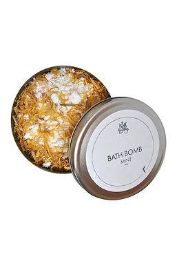 Mint Bath Bomb Box