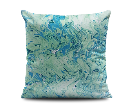 GREEN WAVES Cushion