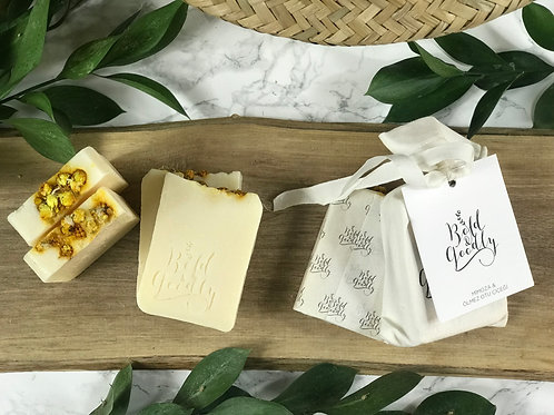 Mimosa & Immortelle Flower Soap