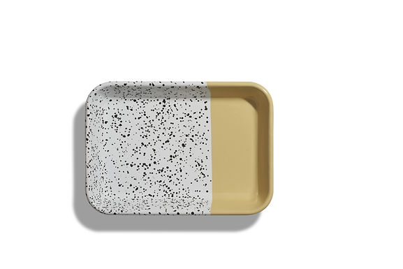 Mind Pop Yellow Serving Tray
