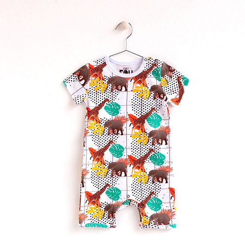 JUNGLE FUN Short Jumpsuit