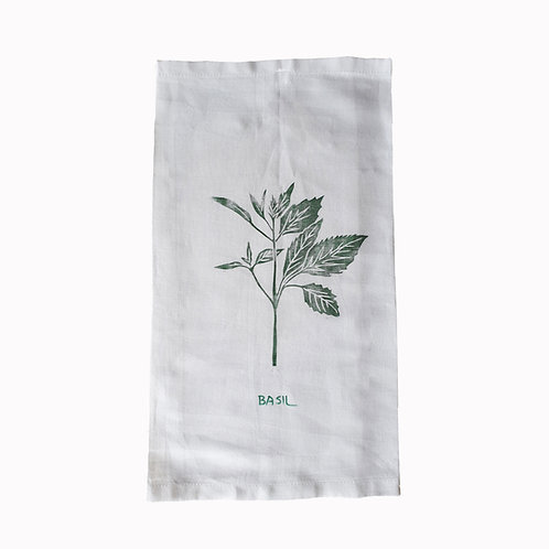 BASIL Tea Towel
