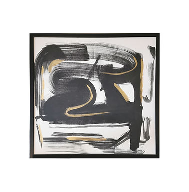 BLACK & GOLD Abstract