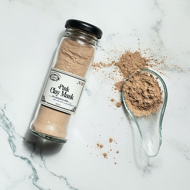 PINK Clay Mask For Sensitive Skin N°28