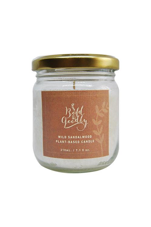 WILD SANDALWOOD Plant-Based Candle