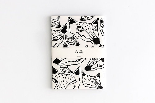 HI ICHI WHITE Notebook