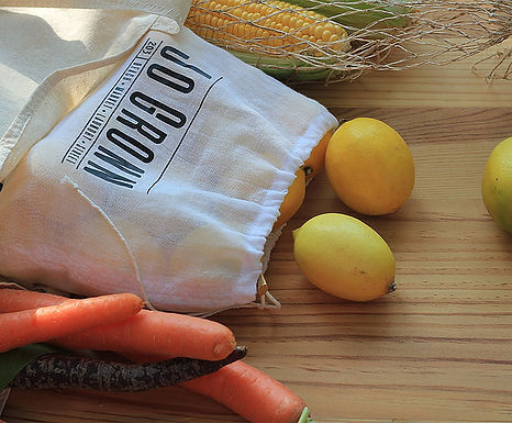 Cotton Reusable Produce Bags
