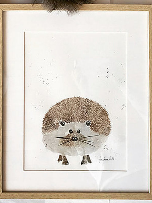 HEDGEHOG Watercolor