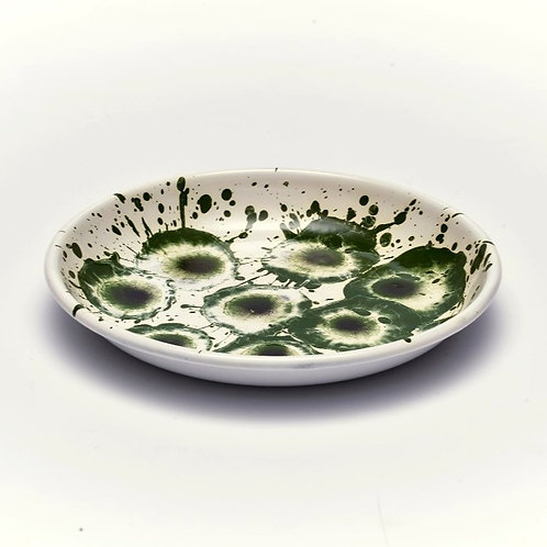 FLORAL MADNESS Green Small Plate
