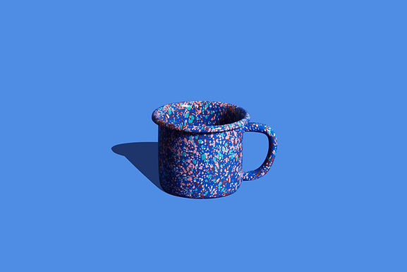 FLOW FEST Blue Mug