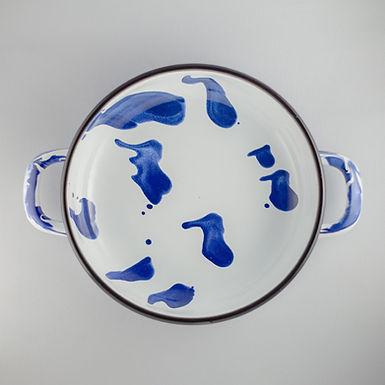 A LITTLE COLOR Blue Pan