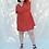 Thumbnail: URSULA Wrap Terra Linen Dress