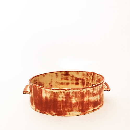 SERVING Oven Ceramic Plate