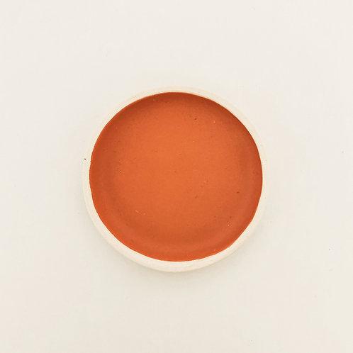 MATTE PEACH Ceramic Soap Holder