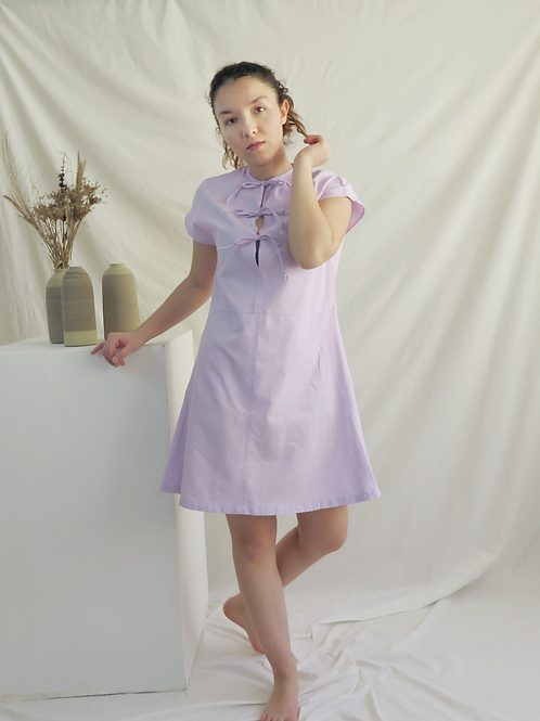 HARRIET Lilac Dress