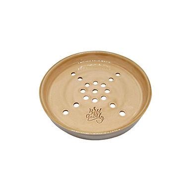 HANDMADE Latte Ceramic Soap Holder