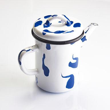 BIRAZ RENK Blue Teapot