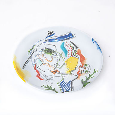 WOMEN Melamine Plates Set of 4