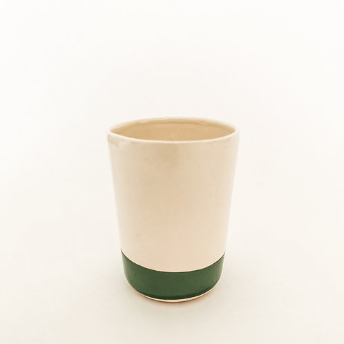 PEACOK GREEN Ceramic Cup