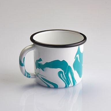 A LITTLE COLOR Turquoise Mug