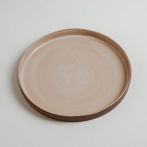 OSTERIA Beige Big Plate